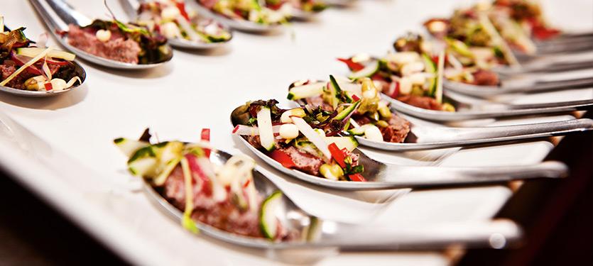 Sample menus – Canapes